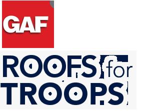 GAF Roof for Troops just GAF Logo1