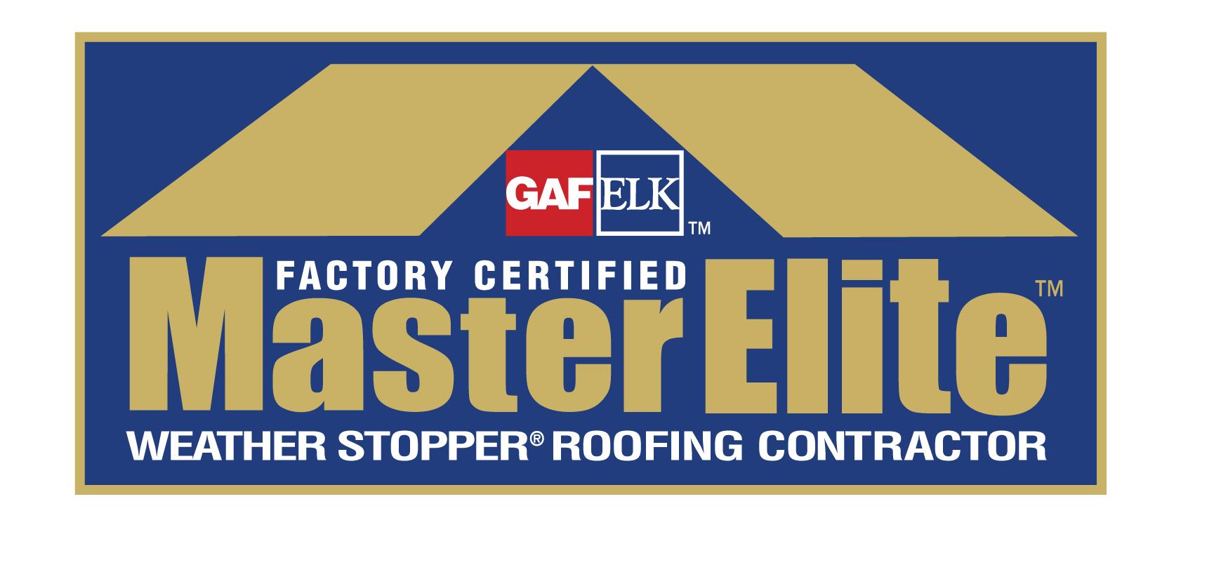 Master Elite GAF Logo Blue